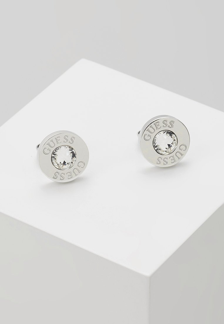 Guess - SHINY - Earrings - silver-coloured