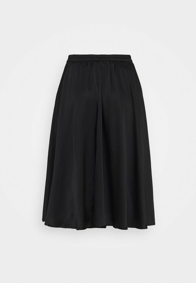VMCHRISTAS CALF SKIRT - A-line skirt - black