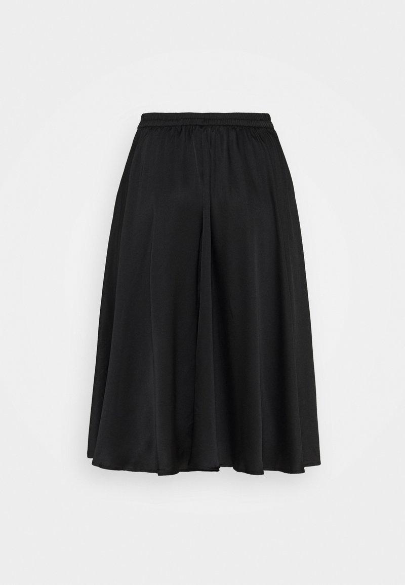 Vero Moda Curve - VMCHRISTAS CALF SKIRT - A-line skirt - black