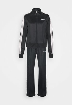 LIGHT SUIT CHROMIA - Tracksuit - black