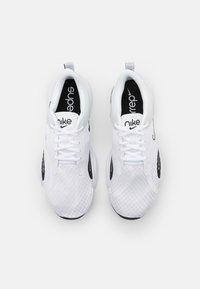Nike Performance - SUPERREP GO 2 - Sports shoes - white/black/pure platinum - 3