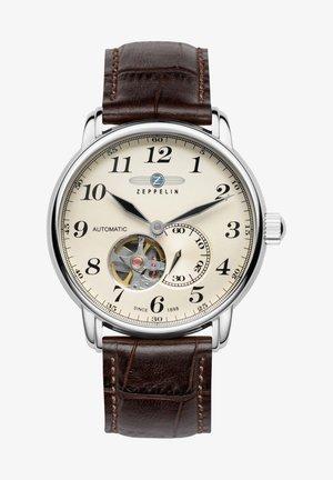 ARMBANDUHR LZ127 GRAF ZEPPELIN OPEN HEART 7666 - Chronograph watch - beige