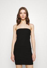 Even&Odd - 2 PACK - Pouzdrové šaty - black/red - 3