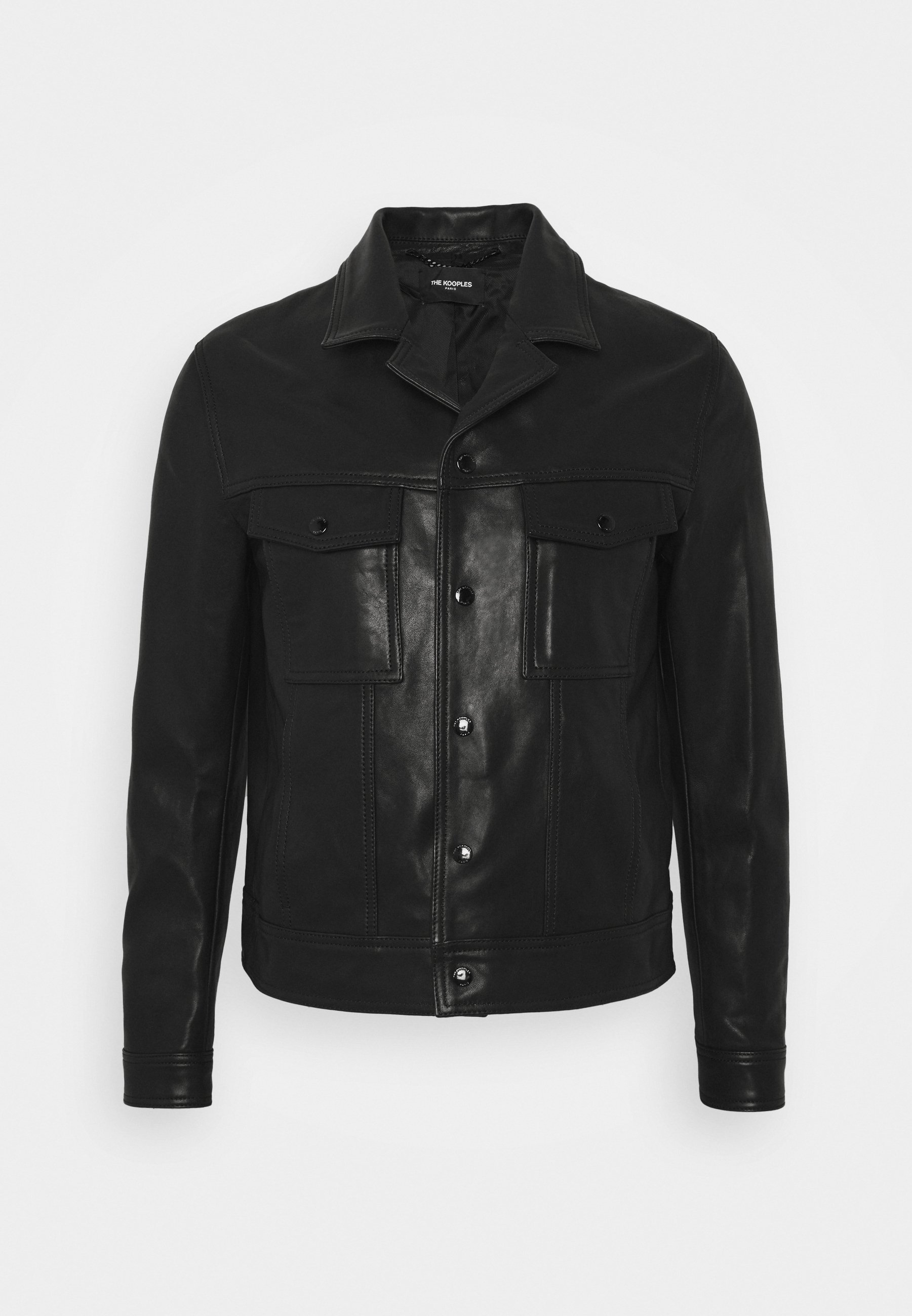 The Kooples Skinnjakke black Zalando.no