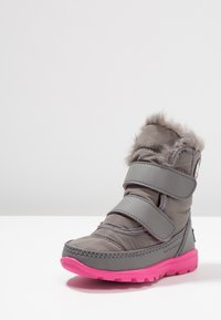 Sorel - WHITNEY VELCRO - Talvisaappaat - quarry/ultra pink - 2