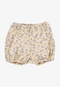 Wheat - Shorts - alabaster flowers - 0
