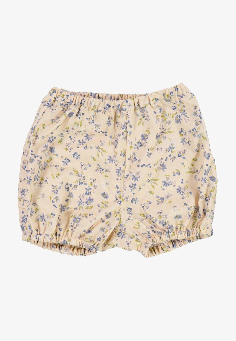 Wheat - Shorts - alabaster flowers