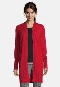 Betty Barclay - MIT KRAGEN - Cardigan - rot - 0
