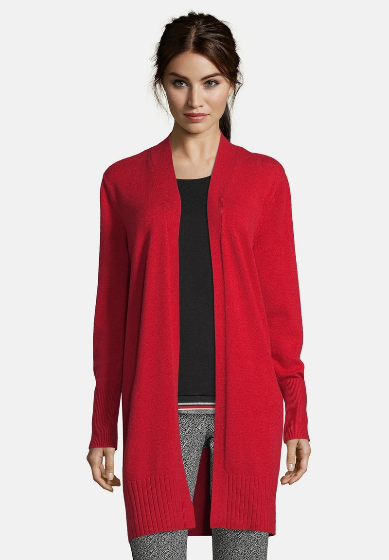 Betty Barclay - MIT KRAGEN - Cardigan - rot