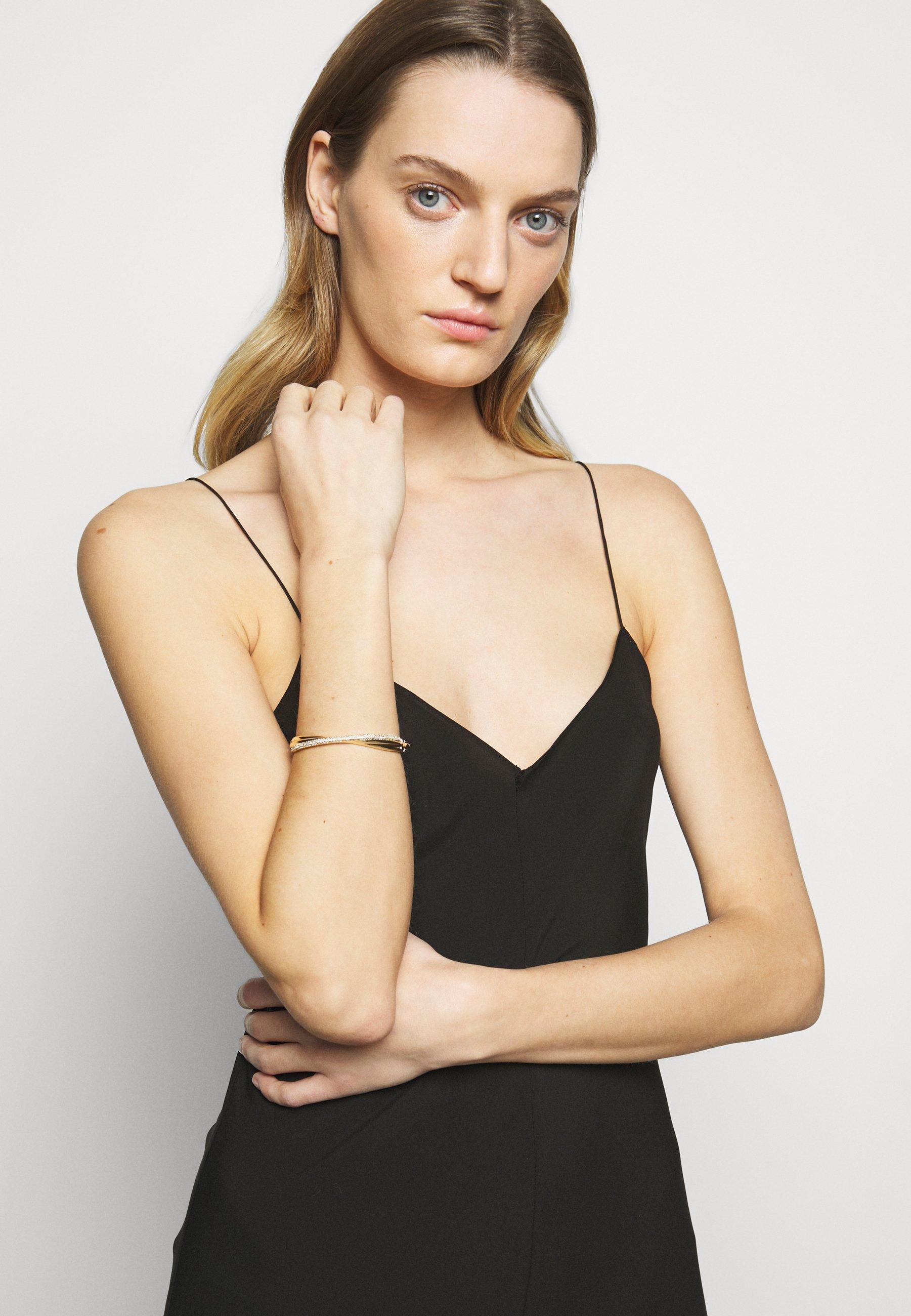Femme TWISTED PAVE BANGLE - Bracelet