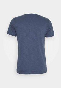 SLUB TEE - Basic T-shirt - faded indigo
