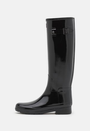 REFINED TALL GLOSS VEGAN - Wellies - black