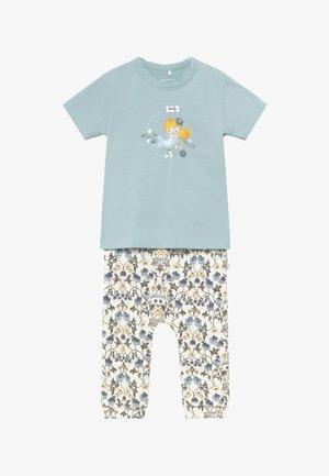 NBFFLORENTIN SET - Pantalones - snow white