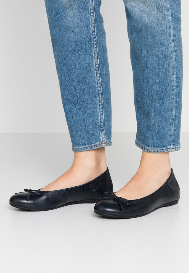 Ballet pumps - midnight
