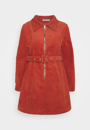 LADIES DRESS - Robe d'été - burnt orange