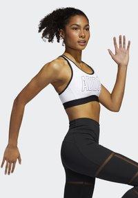 adidas Performance - DON'T REST ALPHASKIN BRA - Urheiluliivit: keskitason tuki - white - 2