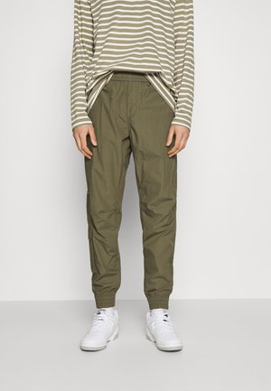 RELAXED CUFFED TRAINER - Cargo trousers - combat
