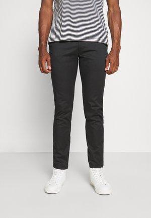 SLHSLIM BUCKLEY FLEX PANTS - Broek - black