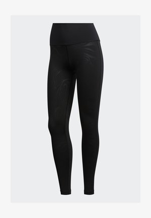 GLAM ON T - Leggings - black