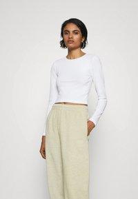 Even&Odd - 3 PACK - Long sleeved top - black/white/light grey - 1