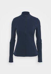 POWER WORKOUT ZIP THROUGH JACKET - Sportovní bunda - navy blue