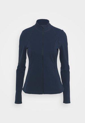 POWER WORKOUT ZIP THROUGH JACKET - Giacca sportiva - navy blue