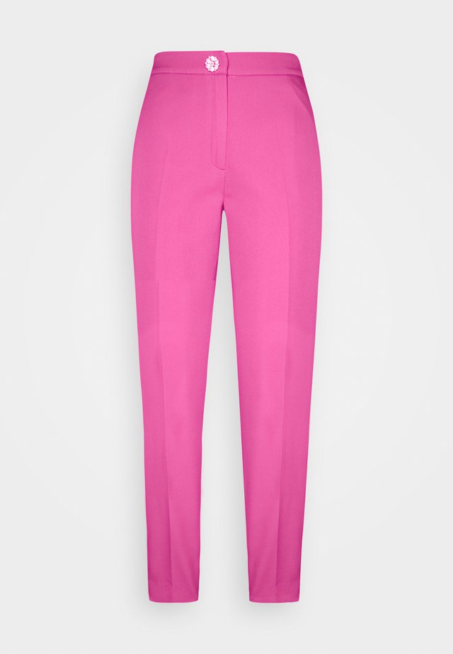 PAULA PANTS - Trousers - magenta