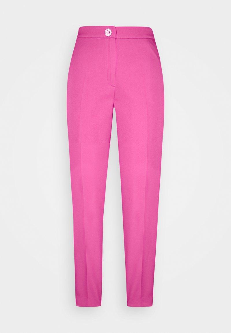 Cras - PAULA PANTS - Spodnie materiałowe - magenta
