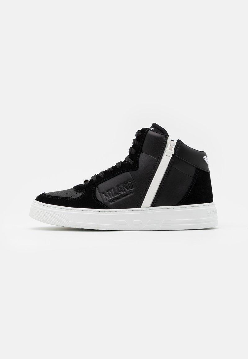 Emporio Armani - Sneakersy wysokie - nero