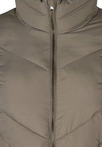 Zizzi - Winter coat - green - 2