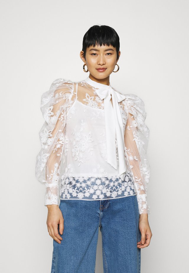 FLORAL - Blouse - ivory