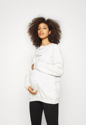 MATERNITY MAMA  - Sweater - white