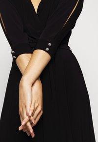 Lauren Ralph Lauren - CLASSIC LONG GOWN WITH TRIM - Robe de cocktail - black - 4