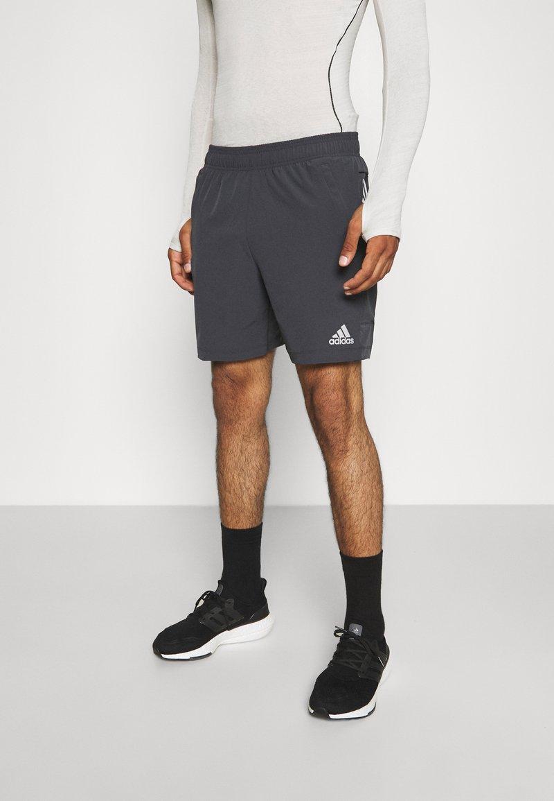 adidas Performance - TRAINING WORKOUT AEROREADY - Krótkie spodenki sportowe - solid grey