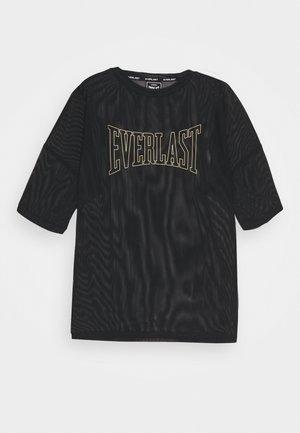 TOPAZE - T-shirt con stampa - black