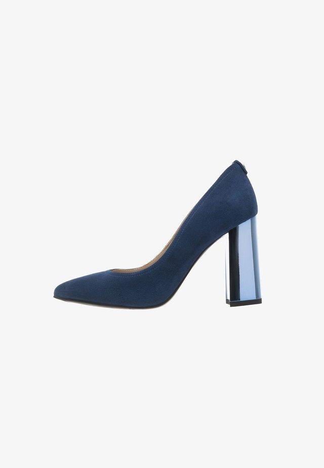 High heels - cobalto