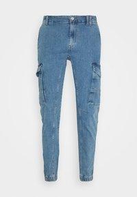 Jack & Jones - JJIPAUL JJFLAKE - Jeans Tapered Fit - blue denim - 5