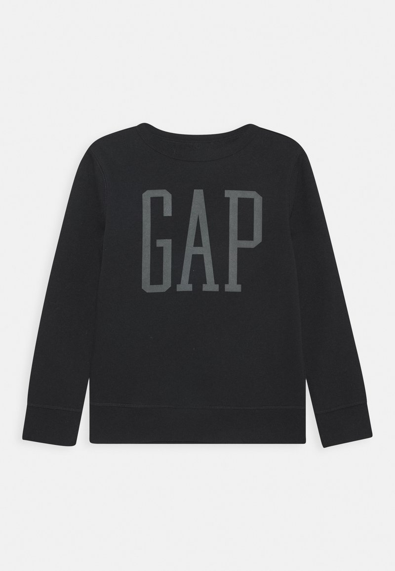 GAP - BOY LOGO CREW - Sweatshirts - true black