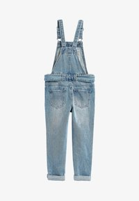 Next - DENIM TIE WAIST DUNGAREES WITH HEADBAND (3-16YRS) - Dungarees - blue - 1