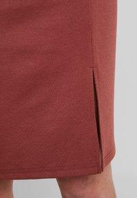 Vero Moda - VMARIANA SKIRT - Pencil skirt - mahogany - 6