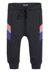Next - MULTI COLOURBLOCK HOODY/JOGGERS SET (3MTHS-7YRS) - Zip-up hoodie - purple - 3