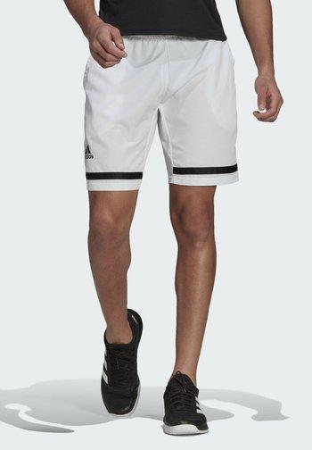 Sports shorts - white/black