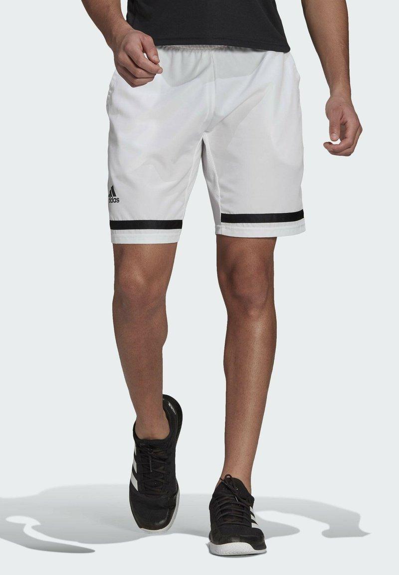 adidas Performance - Sports shorts - white/black