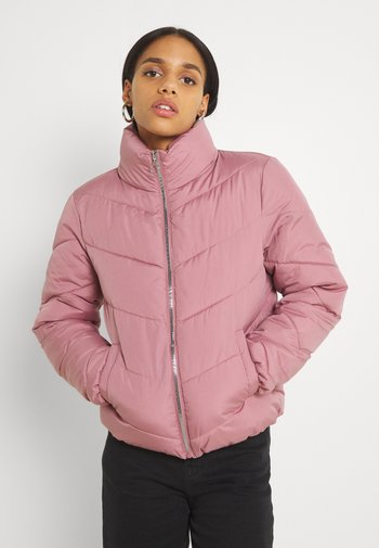 JDYFINNO SHORT PADDED JACKET - Winter jacket - nostalgia rose