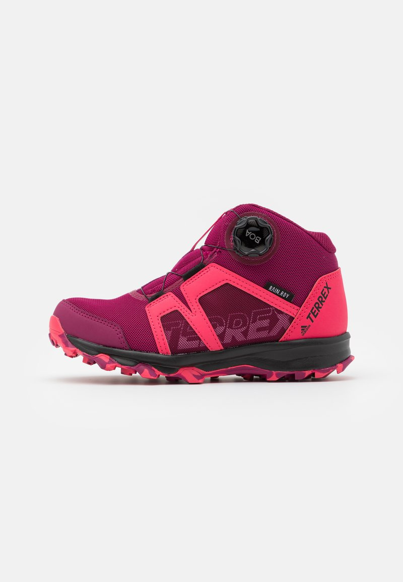 adidas Performance - TERREX BOA MID R.RDY UNISEX - Hiking shoes - power berry/power pink/footwear white