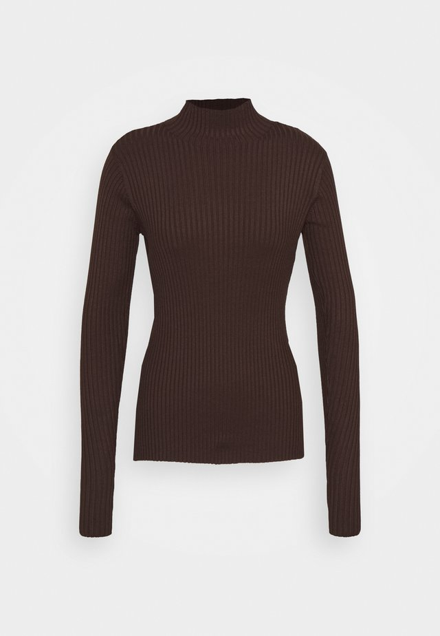 EBO - Strickpullover - dark brown