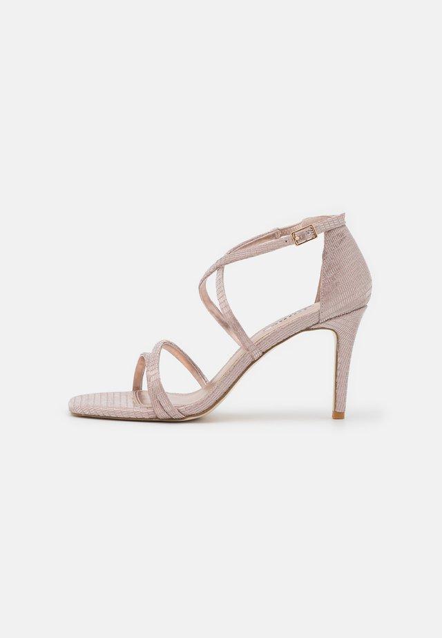 MUSICAL - Sandals - rose gold