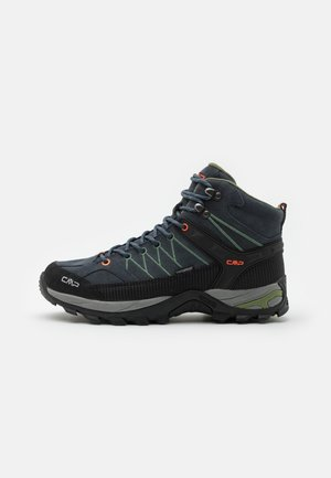 RIGEL MID TREKKING SHOES WP - Obuwie hikingowe - antracite/torba