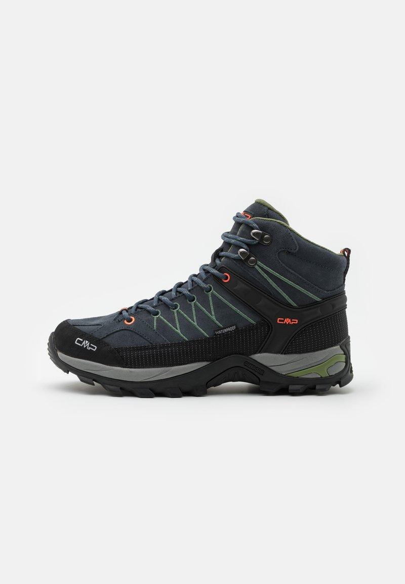 CMP - RIGEL MID TREKKING SHOES WP - Chaussures de marche - antracite/torba