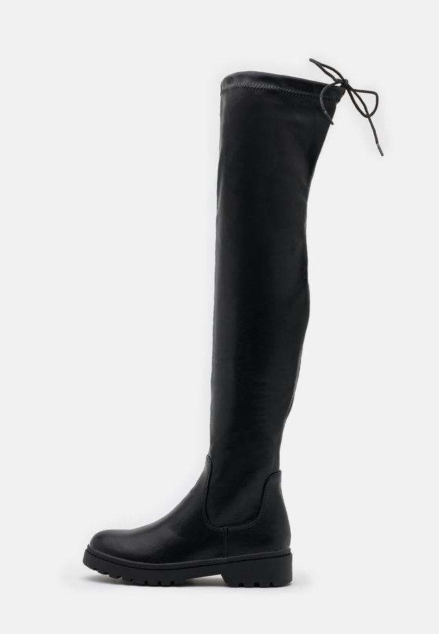 CALCUTTA CHUNKY - Bottes à plateau - black